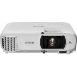 Epson EH-TW610 Data Projector 3000 Ansi Lumens 3LCD 1080P 1920X1080 Portable White Full HD 1920X1080 16:9 1.07B 298W 37 Dba