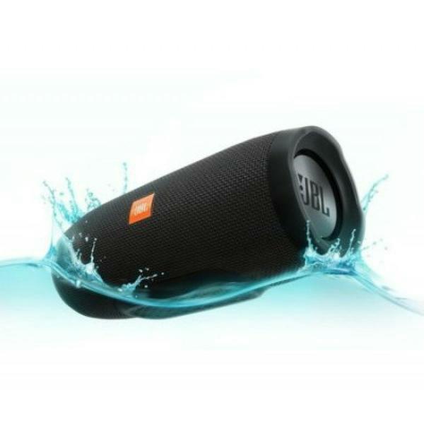 JBL Charge 3 Portable Bluetooth Speaker Black