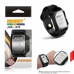 Jakemy JM-X4 Powerful Magnetic Wristband Small Metal Holder Nut Screws Components Adsorption Bracelet Belt Bracelet