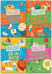 40 Simple Science Experiments 4 Book Collection