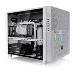 Thermaltake Core X5 Tempered Glass Snow Edition Cube White Computer Case