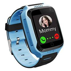 GPS Waterproof Kids Smart Watch For Students Girls Boys Touch Screen Smartwatch With lbs Tracker Voice Chat One-key Sos Help Anti-lost Calling Phone Watches