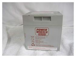 Power Wheels Rechargeable Gray Battery 12 Volt Fisher Price Genuine