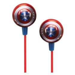 Avengers Stereo Earphones With Pouch