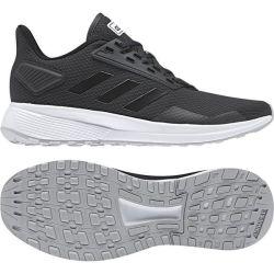 4c76e6118a20 Adidas Womens Duramo 9 Running Shoes in Black   Grey