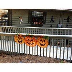 LTD 1 X Halloween Pumpkin Bunting