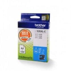 Brother LC535XL-C High Yield Cyan Ink Cartridge