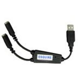 USB Esquire Adapter For 2 Keyboard Device Retail Box 3 Months Warranty