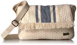 Roxy Island Resort Satchel Bag Marshmallow