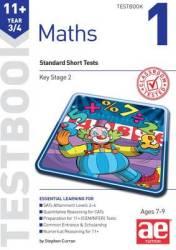 11+ Maths Year 3 4 Testbook 1