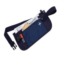 Troika Rfid Belt Bag - For Travel Documents