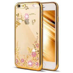 huge selection of c967d a5822 EMAXELER Case For Iphone 6S Plus Iphone 6 Plus Cover Bling Swarovski  Crystal Rhinestone Case Electroplating Flexible Tpu Case Fo | R395.00 | Car  Parts ...
