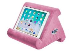 Flippy Multi-angle Soft Pillow Lap Stand For Ipads Tablets Ereaders Smartphones Books Magazines Pink