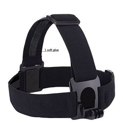 Eproperous Waterproof Head-strap Camera Mount That Works For Any Gopro Camera Including Gopro Hero Hero 2 Hero 3 HERO3+ Hero 4 Hero 4 Black
