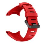 Vovomay Band For Suunto Core Watch Silicone Replacement Band Smart Watch Fitness Strap For Suunto Core Red