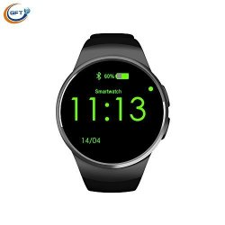 GFT KW18 Sync Notifier Support Sim Card Bluetooth Smart Watches For Android Phone Iphones Waterproof