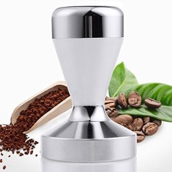 Ambox Stainless Steel Coffee Tamper Barista Espresso Tamper 51MM Base Coffee Bean Press