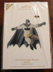 Hallmark Sdcc San Diego Comic Con 2012 Exclusive Batman A Human Hero The Dark Knight Returns. Limited To 875