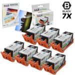 HP Ld Remanufactured Replacement For 920XL 920 CD975AN Black Ink Cartridges 7PK For Officejet 6000 6500 7000 & 7500A + Free 4X