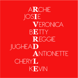 Riverdale Characters Red