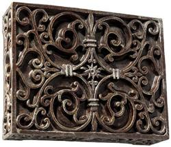Craftmade Cab-rc Carved Box Chime
