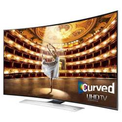 Samsung UN55HU9000 Curved 55-INCH 4K Ultra HD 120HZ 3D Smart LED Hdtv Series 9