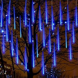 big sale 5ef9c 854b3 Eagwell Upgrade Meteor Lights 20 Inches Snow Blue 10 Tube 540 Leds Meteor  Shower Rain Lights Waterproof Xmas Decoration Light Fa | R1210.00 | DIY ...
