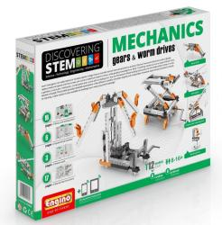 Engino Discovering Stem Mechanics Gears & Worm Drives Set