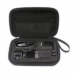 Anbee Portable Carrying Case Storage Bag Compatible With Dji Osmo Pocket Handheld Gimbal Camera And Accessories Black