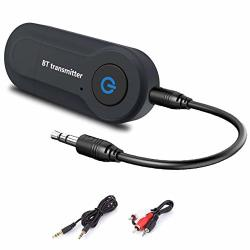 Bluetooth Transmitter Wireless Audio Transmitter USB V4.2 Adapter Connected To 3.5MM Audio Receiver Devices Low Latency Paired F
