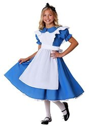 Fun Costumes Child Alice In Wonderland Deluxe Alice Costume Dress 2XL 18