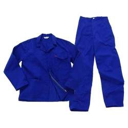 Pinnacle Size 44 Conti Suite 2 Piece Overall in Navy Blue