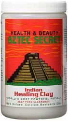 Aztec Secret - Indian Healing Clay - 2 Lb. Deep Pore Cleansing Facial & Body Mask The Original 100% Natural Calcium Bentonite Cl