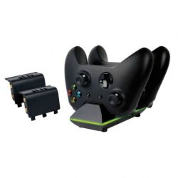 Sparkfox Dual Controller Charging Dock & Battery Pack - Xbox One