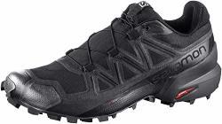Salomon Men's Speedcross 5 Trail Running Black black phantom 10.5