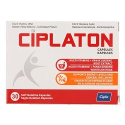 Ciplaton Energy Everyday 30 Softgel Capsules