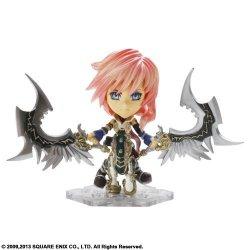 Final Fantasy Trading Arts Kai MINI - Lightning From Final Fantasy Xiii Pvc Figure