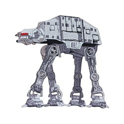 Disney Star Wars At-at Imperial Walker Patch Officially Licensed Iron On Applique