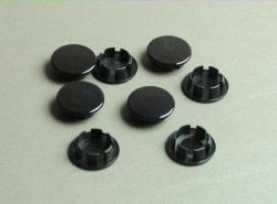 "1 Pack Of 8 Pcs Plastic 11 16"" Black Hole Plugs HPB-687"