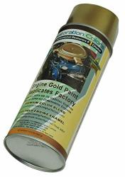 Compatible With 1949-1976 Cadillac 1948-1960 Olds Engine Motor Gold High Temp Enamel Spray Paint 1 Can C-1-3
