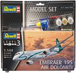 Revell Embraer Erj 195 Model Set 1:144