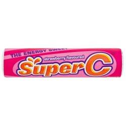 Super C MINI Roll Strawberry Strawb 37 G