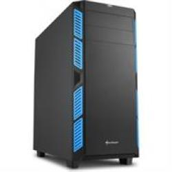 Sharkoon AI7000 Gaming ATX Tower PC Case in Blue