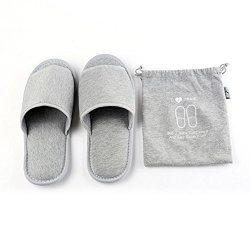 IBLUELOVER Portable Slippers Open Toe Sandals Spa Travel Hotel Home Slippers Footwear
