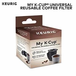 Keurig My K-cup Universal Reusable Ground Coffee Filter Compatible With All K-cup Pod Coffee Makers 2.0 And 1.0