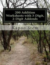 200 Addition Worksheets With 3-digit 2-digit Addends