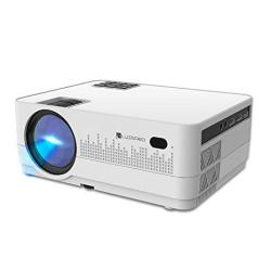 10-YEAR Warranty Android Projector Luxnpro Video Projector Lcd MINI HD Projector 2019 Upgraded 3500 Lux Supports 1080P Wifi HDMI