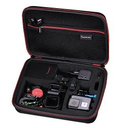 Smatree Charging Case Compatible For Gopro Hero 7 6 5 Gopro HERO5 Session Camera And Accessories Is Not Included
