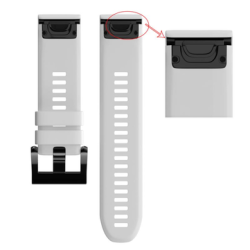 22MM Silicone Replacement Strap Watch Band For Garmin Fenix 5 FORERUNNER 935