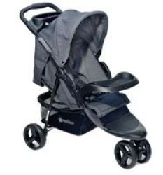 Peerless Pub Lightweight Baby Pram Pushchair Buggy 3 Wheel Stroller